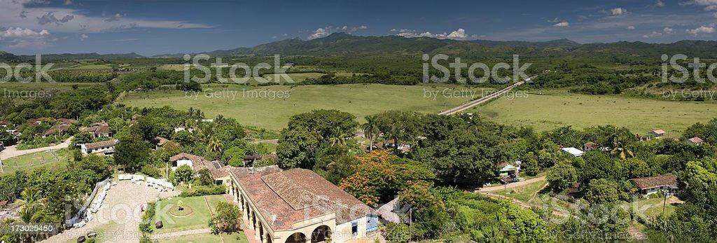 Sugar farm in Valley de laos ingenious stock photo