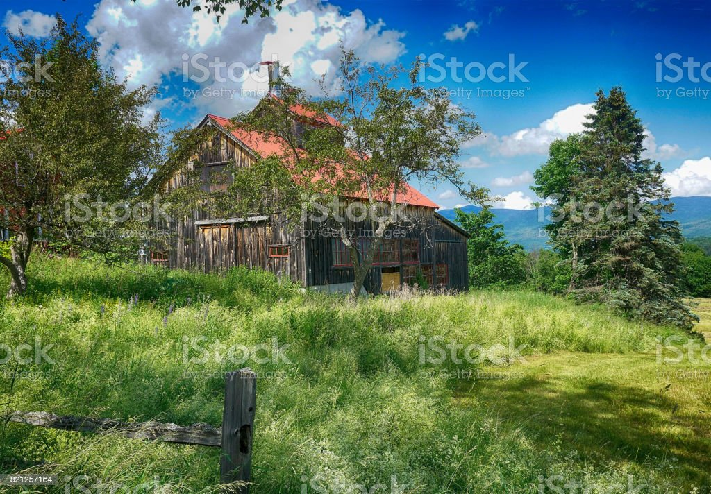 sugar house stock photo