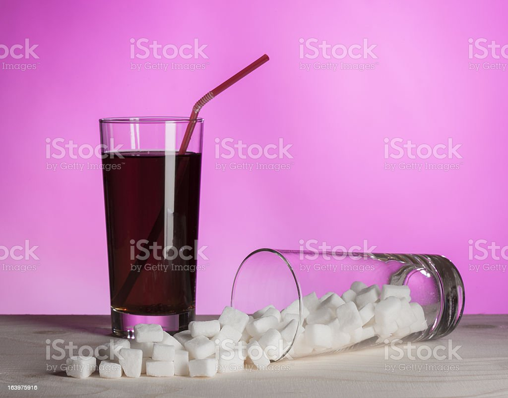 Sugar In Drinks stock photo