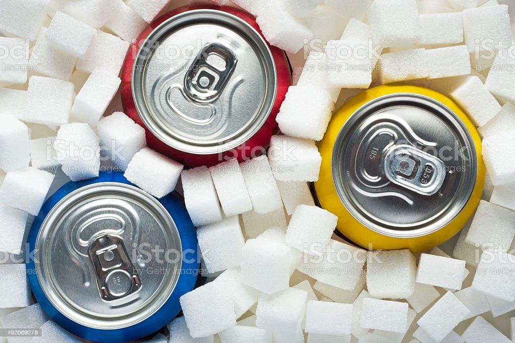Sugar in food stock photo