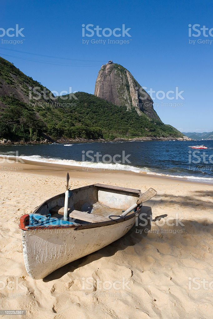 Sugar Loaf  and Red Beach royalty-free stock photo