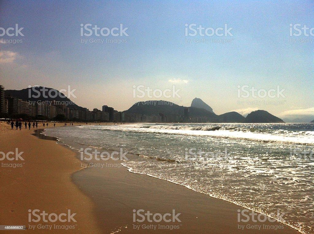 Sugar Loaf - Copacabana Beach stock photo