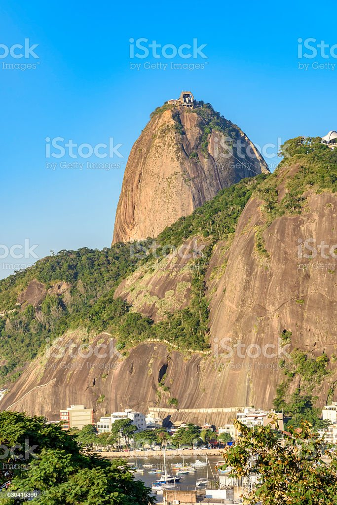 Sugar loaf hill stock photo