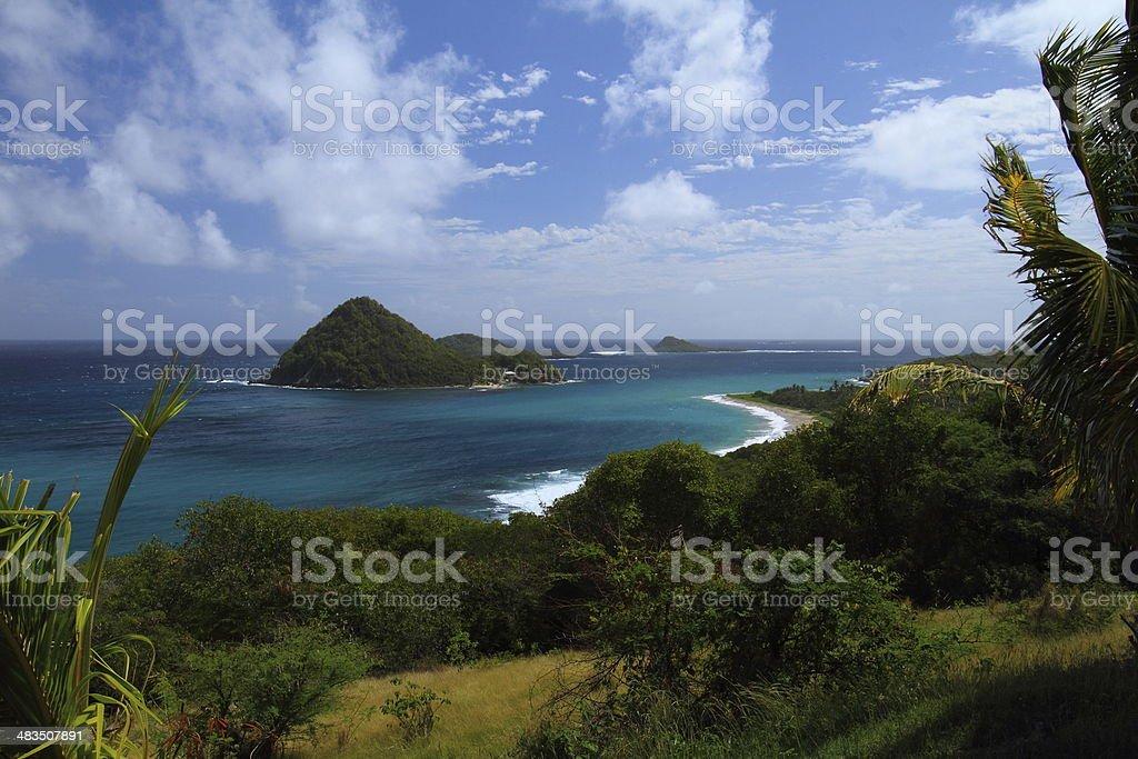 Sugar Loaf island royalty-free stock photo
