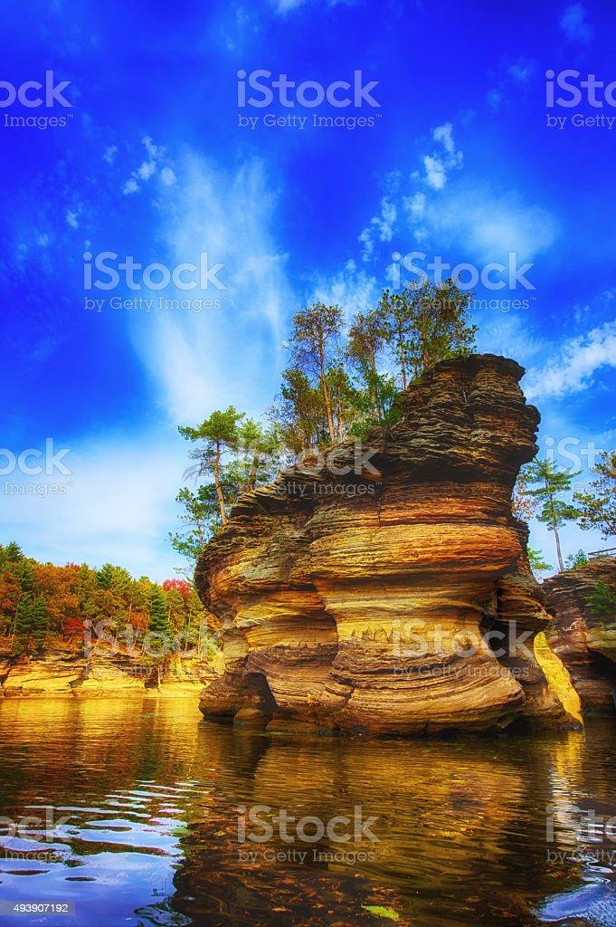 Sugar Loaf Island stock photo