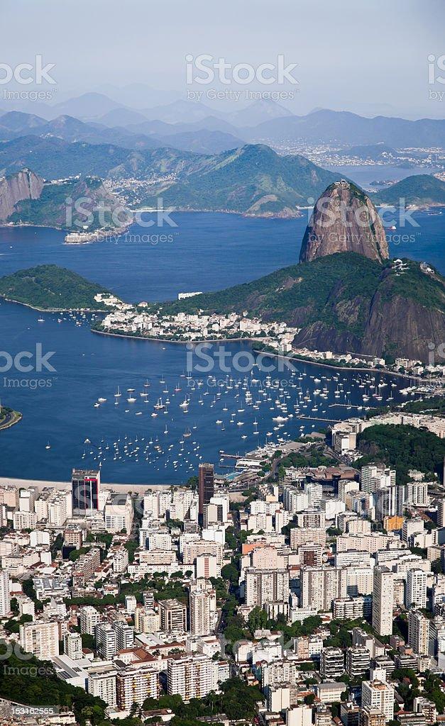 Sugar Loaf Mountain in Rio de Janeiro royalty-free stock photo