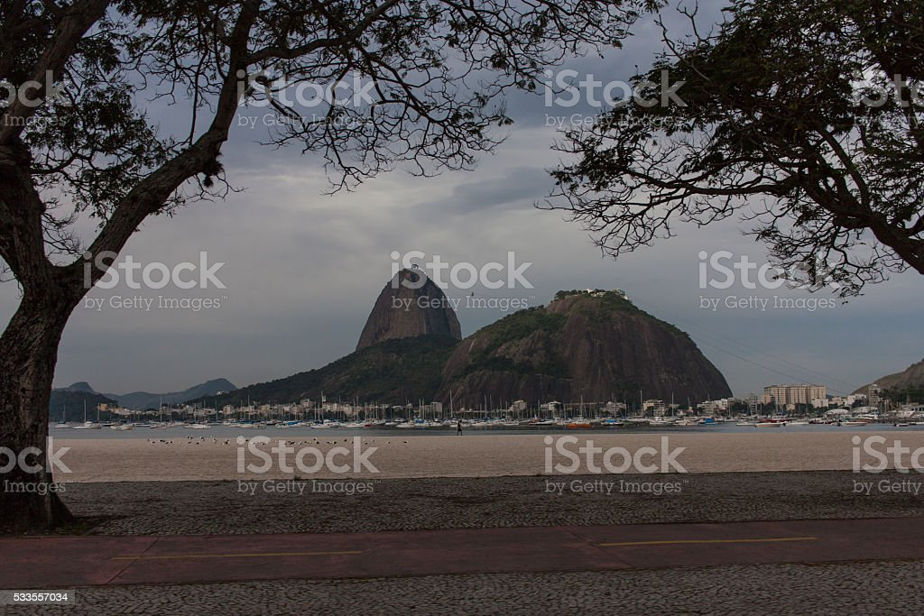 Sugar Loaf stock photo