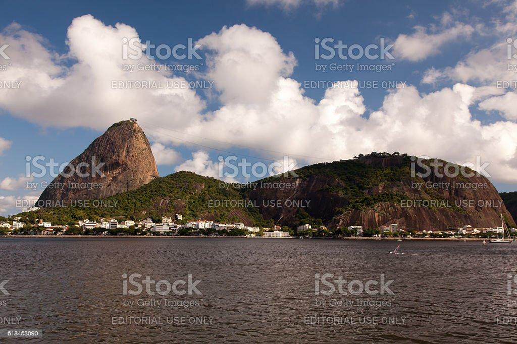 Sugar loaf - Rio de Janeiro - and Urca stock photo