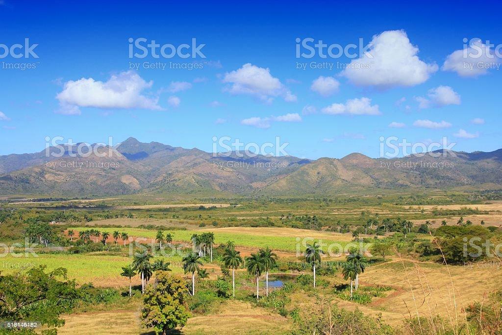 Sugar Mill Valley, Cuba stock photo