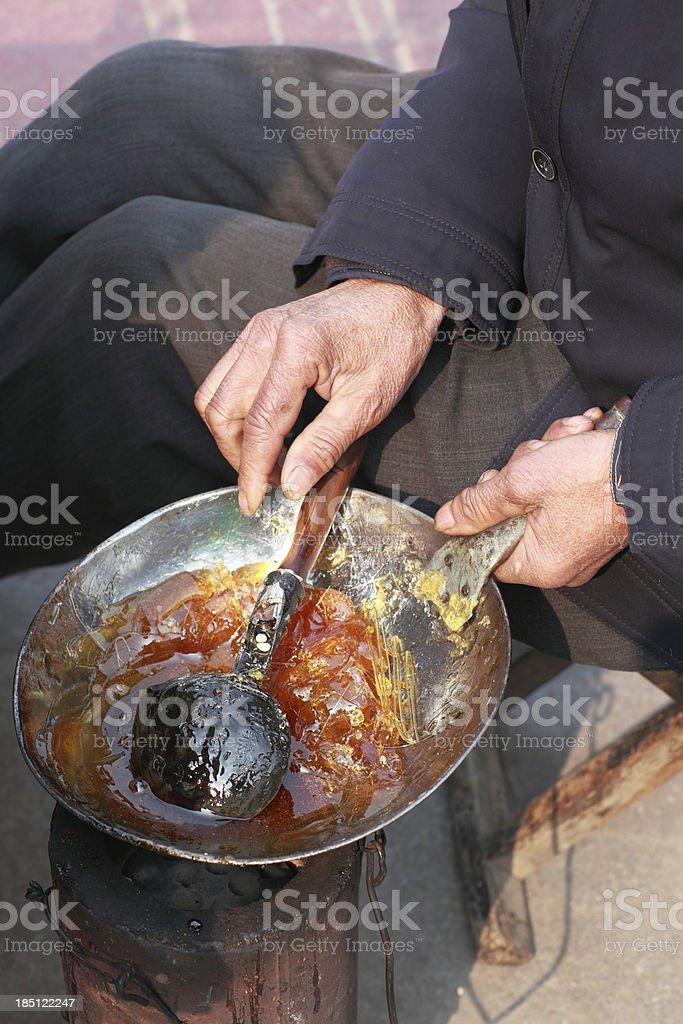 Sugar painting royalty-free stock photo