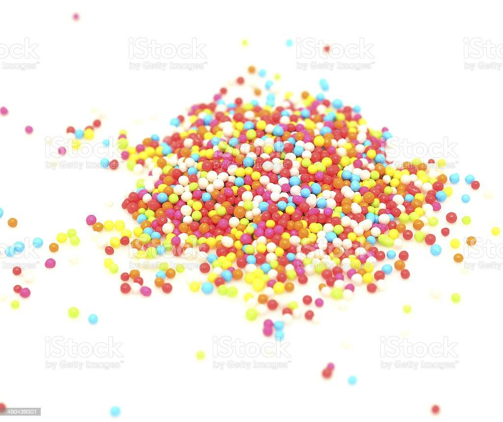 sugar pearls royalty-free stock photo