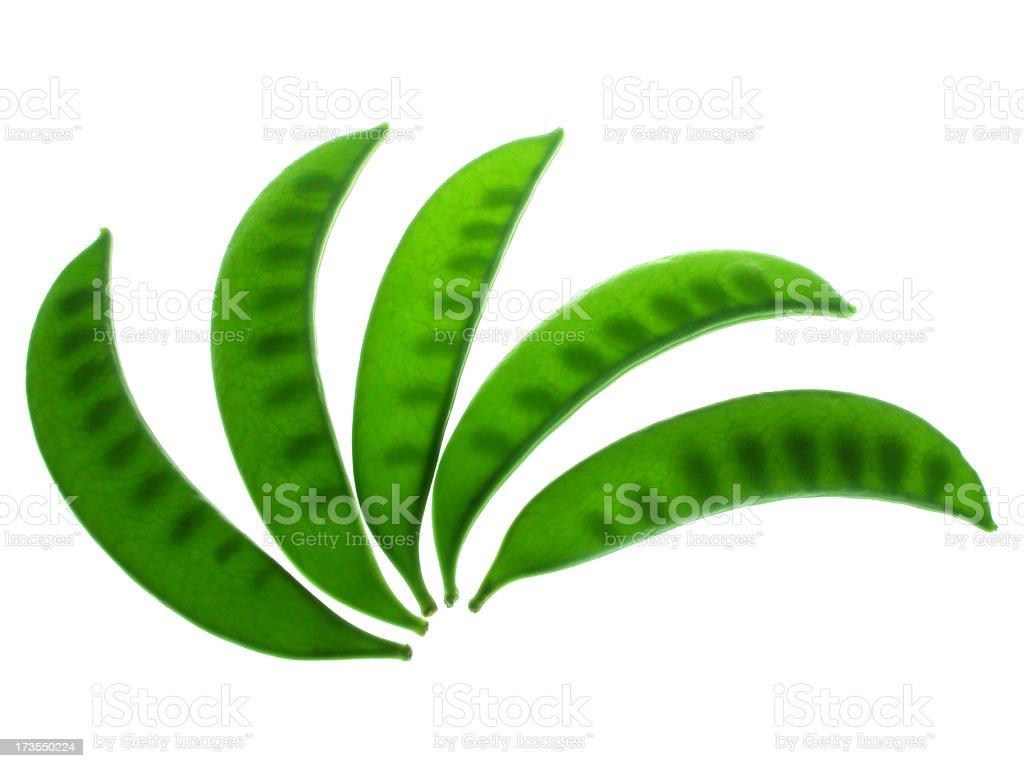 Sugar Peas royalty-free stock photo