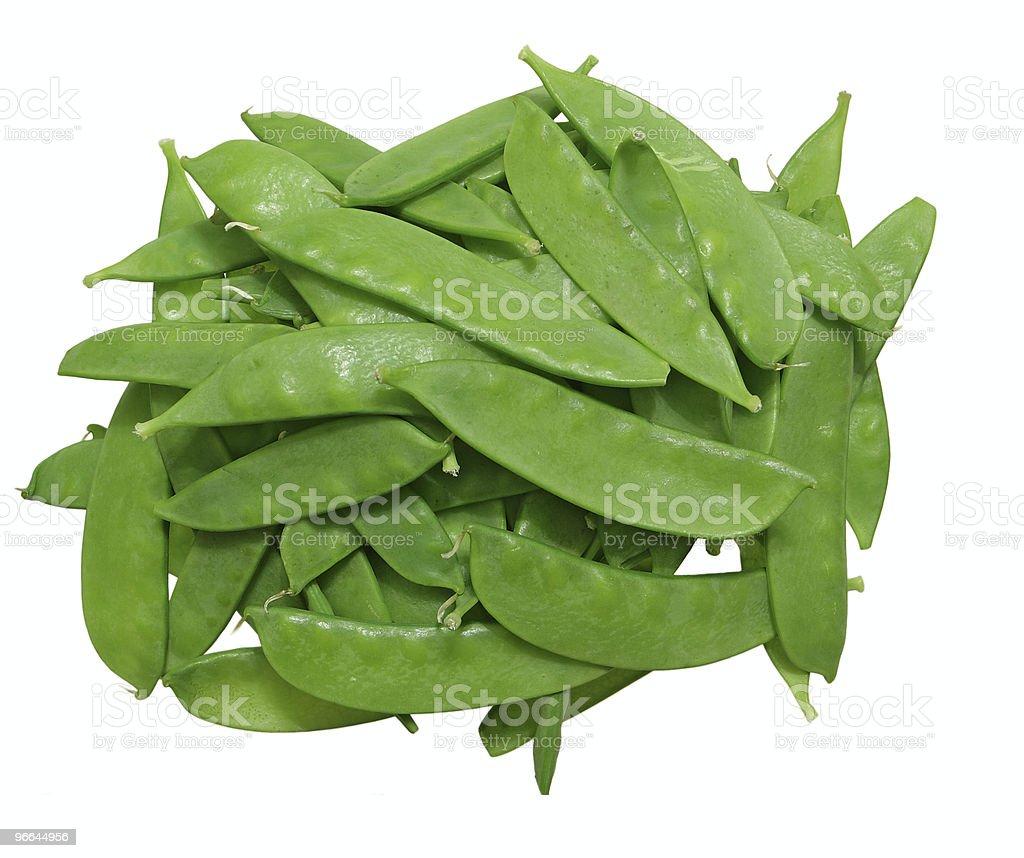 sugar peas stock photo