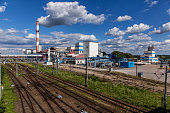 Sugar refinery in Nakło, Poland