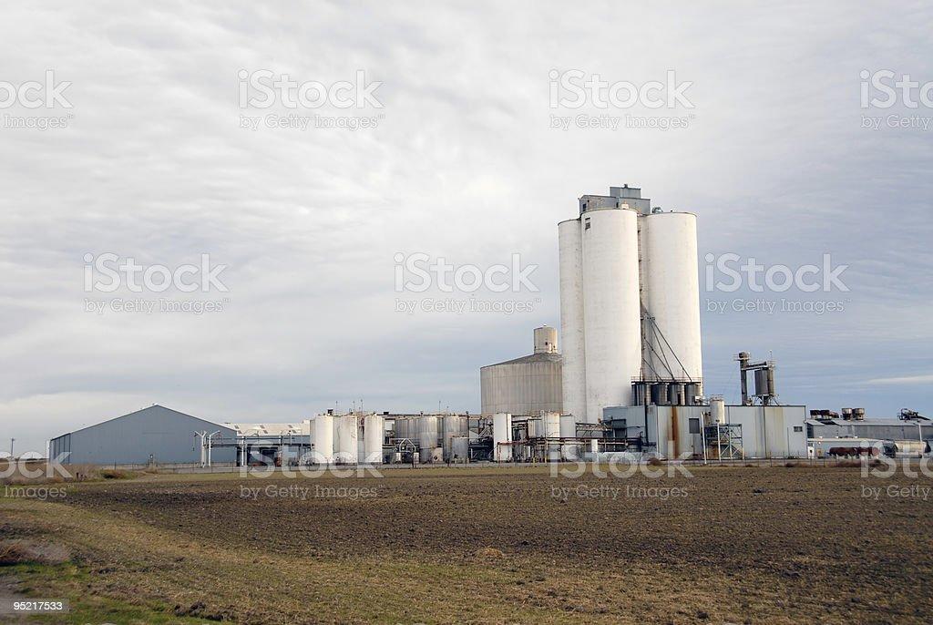 Sugar refinery stock photo