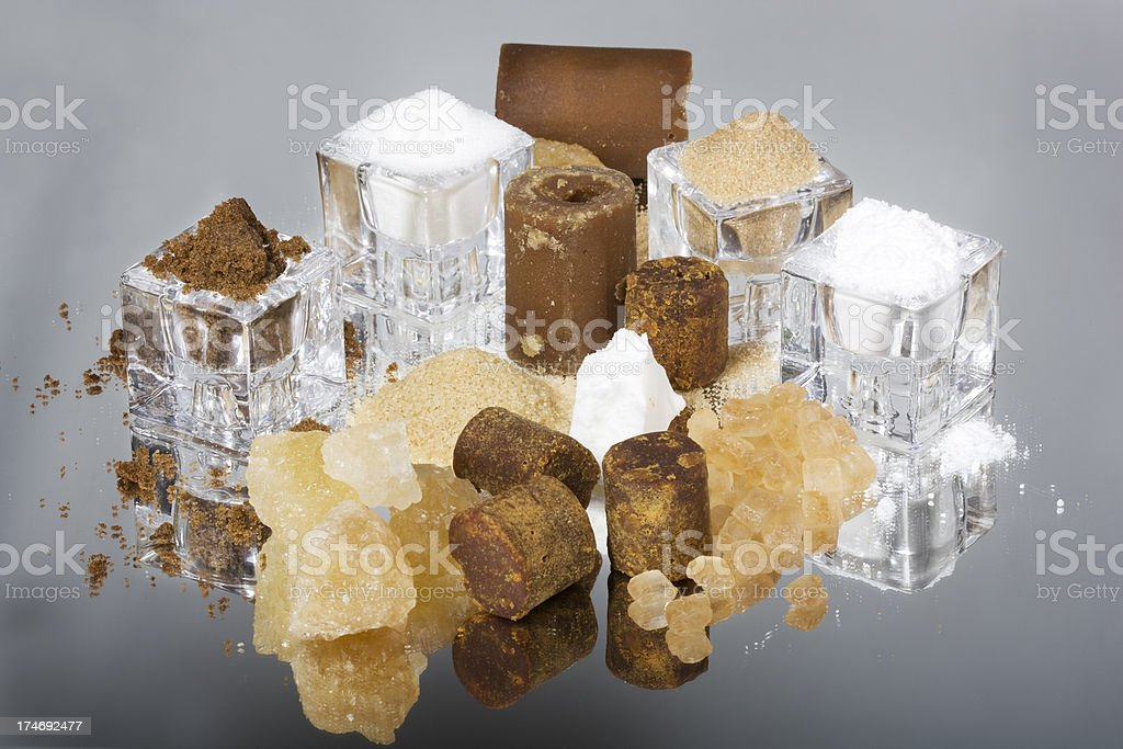 sugar selection royalty-free stock photo