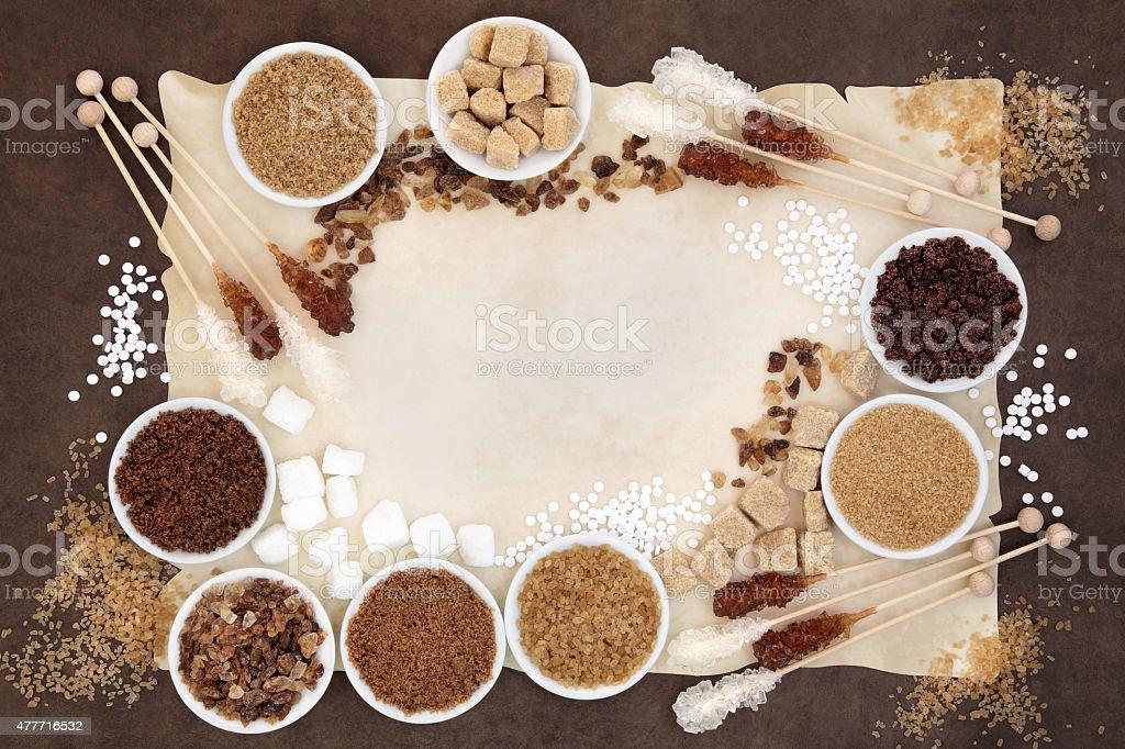 Sugar Selection stock photo
