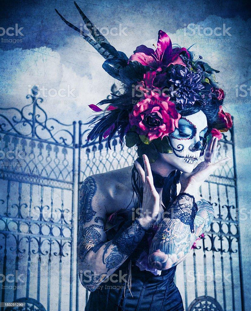 Sugar Skull Series royalty-free stock photo