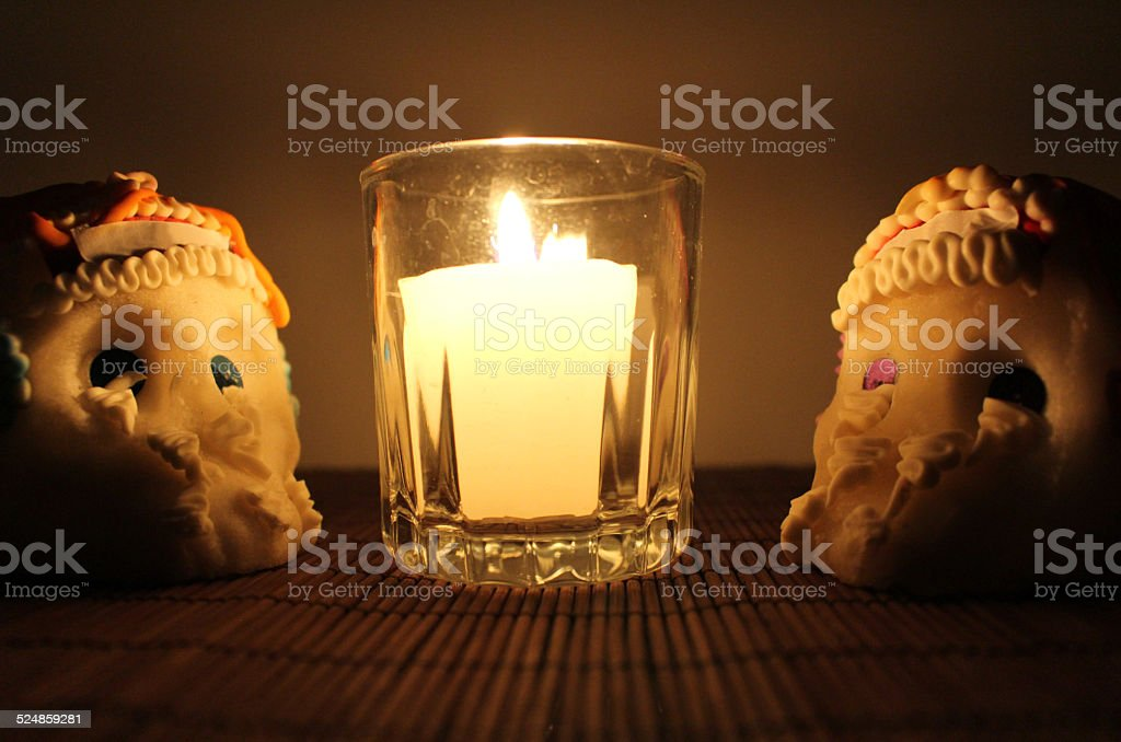Sugar Skulls stock photo
