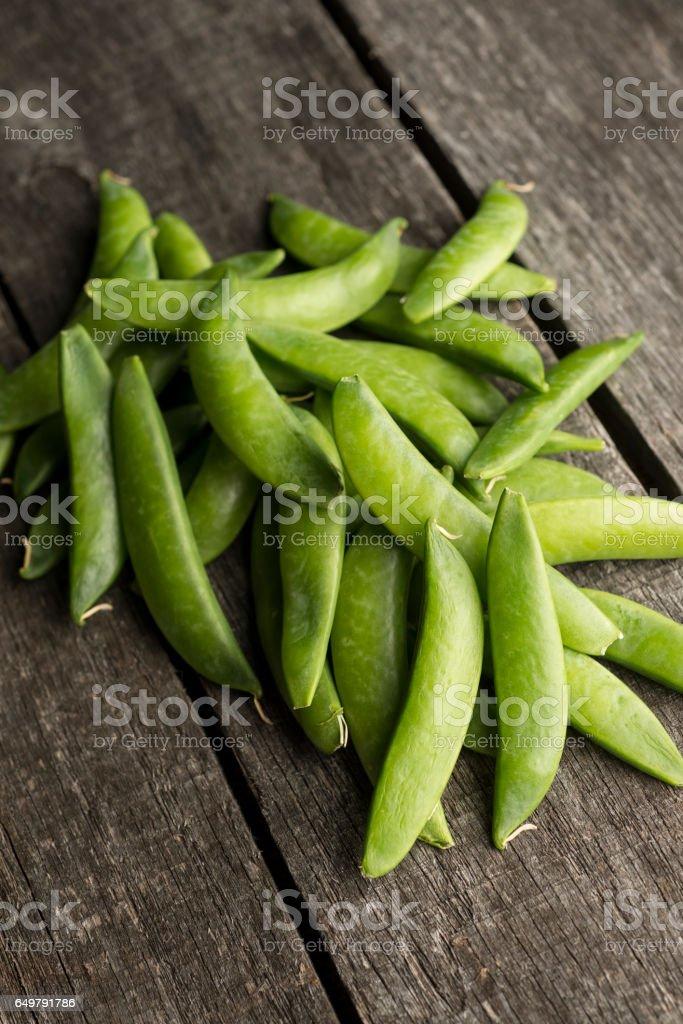 Sugar Snap Pea stock photo