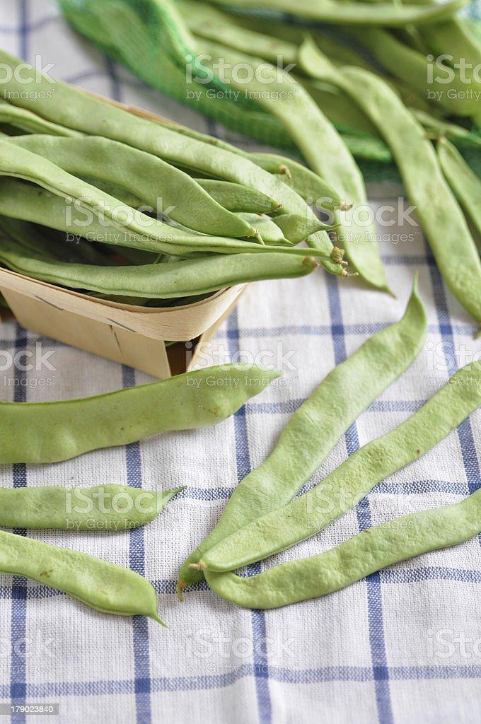 sugar snap peas royalty-free stock photo