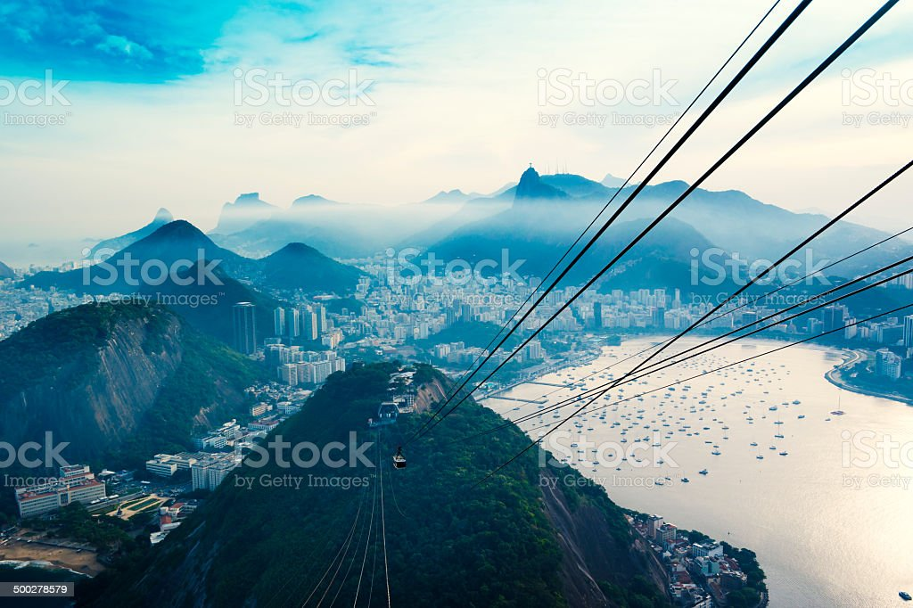 Sugarloaf Cable Car stock photo