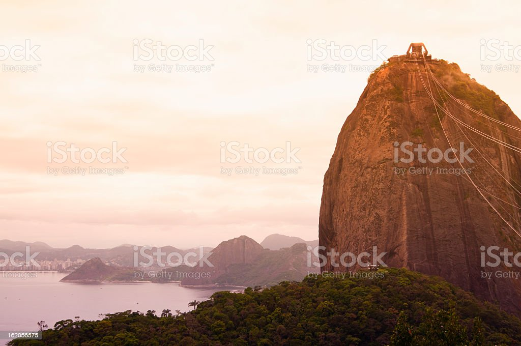 Sugarloaf in Rio de Janeiro, Brazil royalty-free stock photo