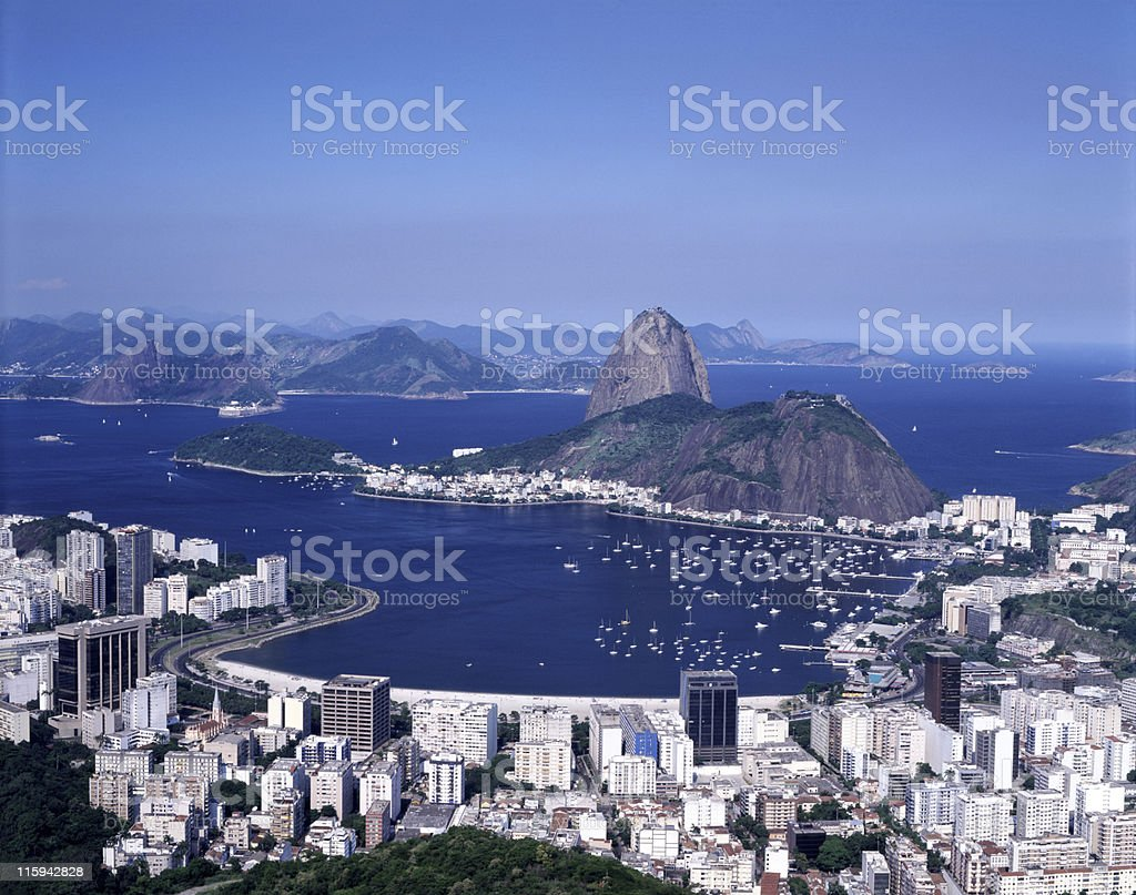 Sugarloaf in Rio de Janeiro royalty-free stock photo