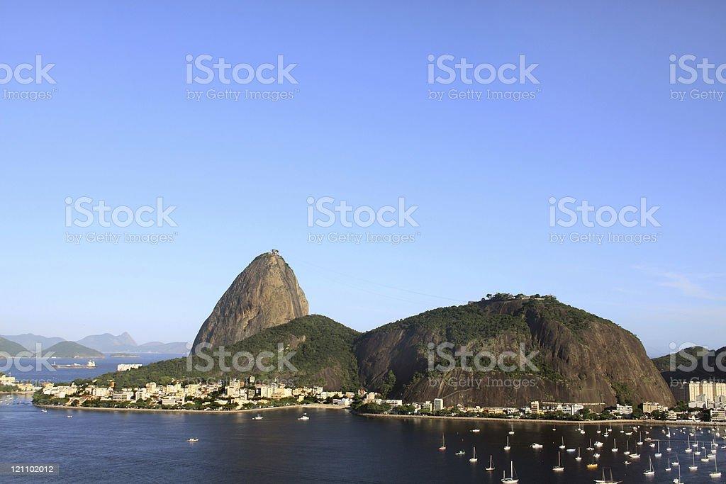 Sugarloaf in Rio de Janeiro royalty-free stock photo