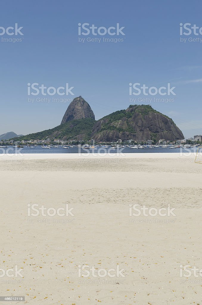 Sugarloaf Mountain in Rio de Janeiro royalty-free stock photo