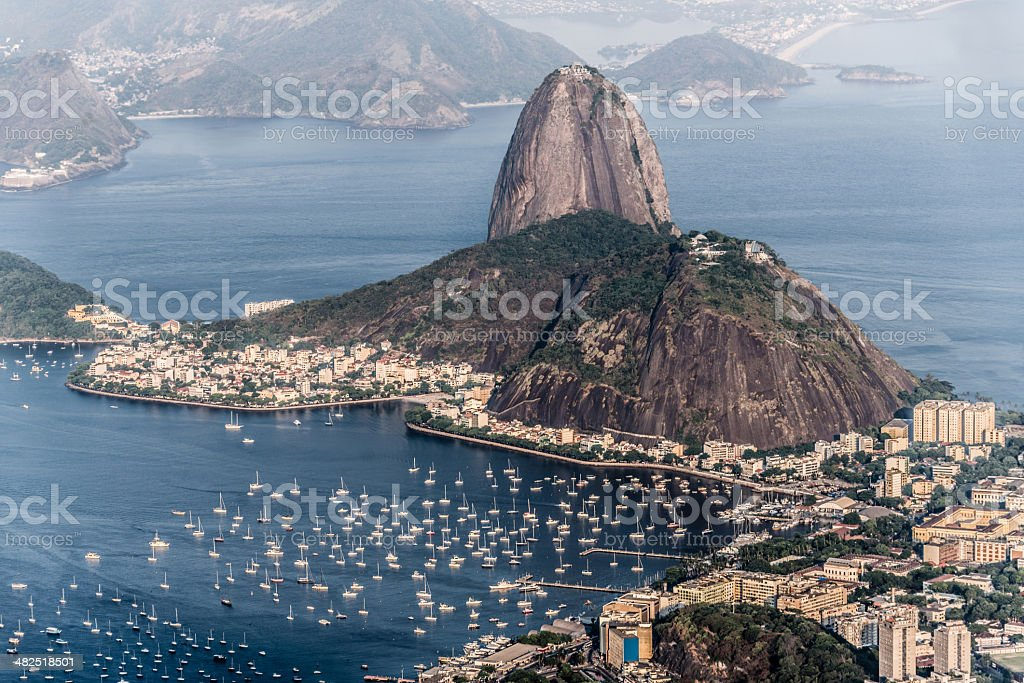 Sugarloaf Mountain royalty-free stock photo