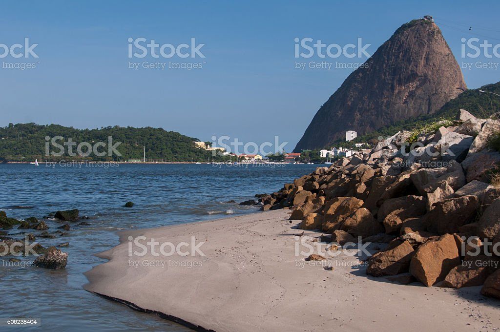 Sugarloaf Mountain stock photo
