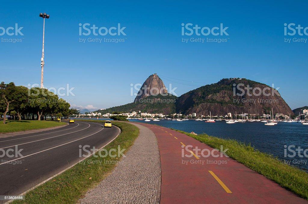 Sugarloaf Mountain stock photo