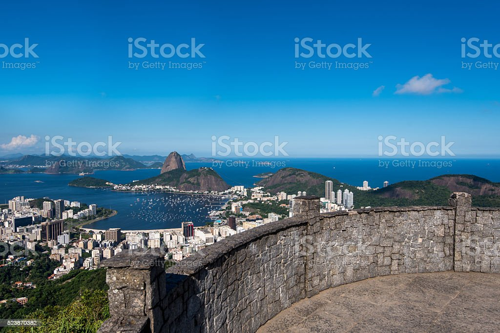 Sugarloaf Mountain View stock photo