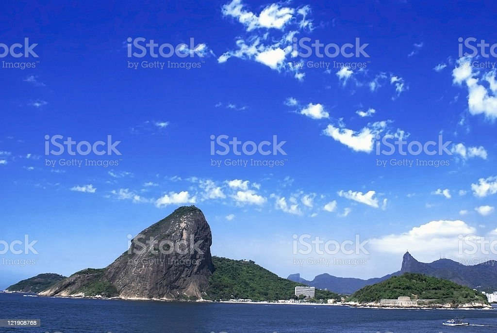 Sugarloaf Panorama royalty-free stock photo
