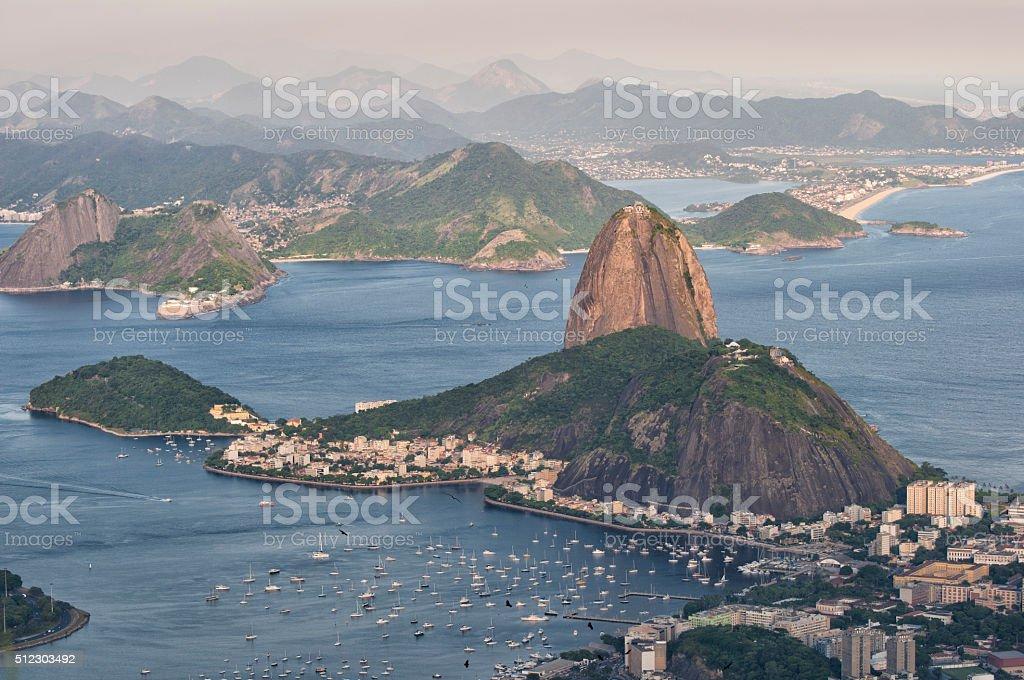 Sugarloaf Rio de Janeiro stock photo