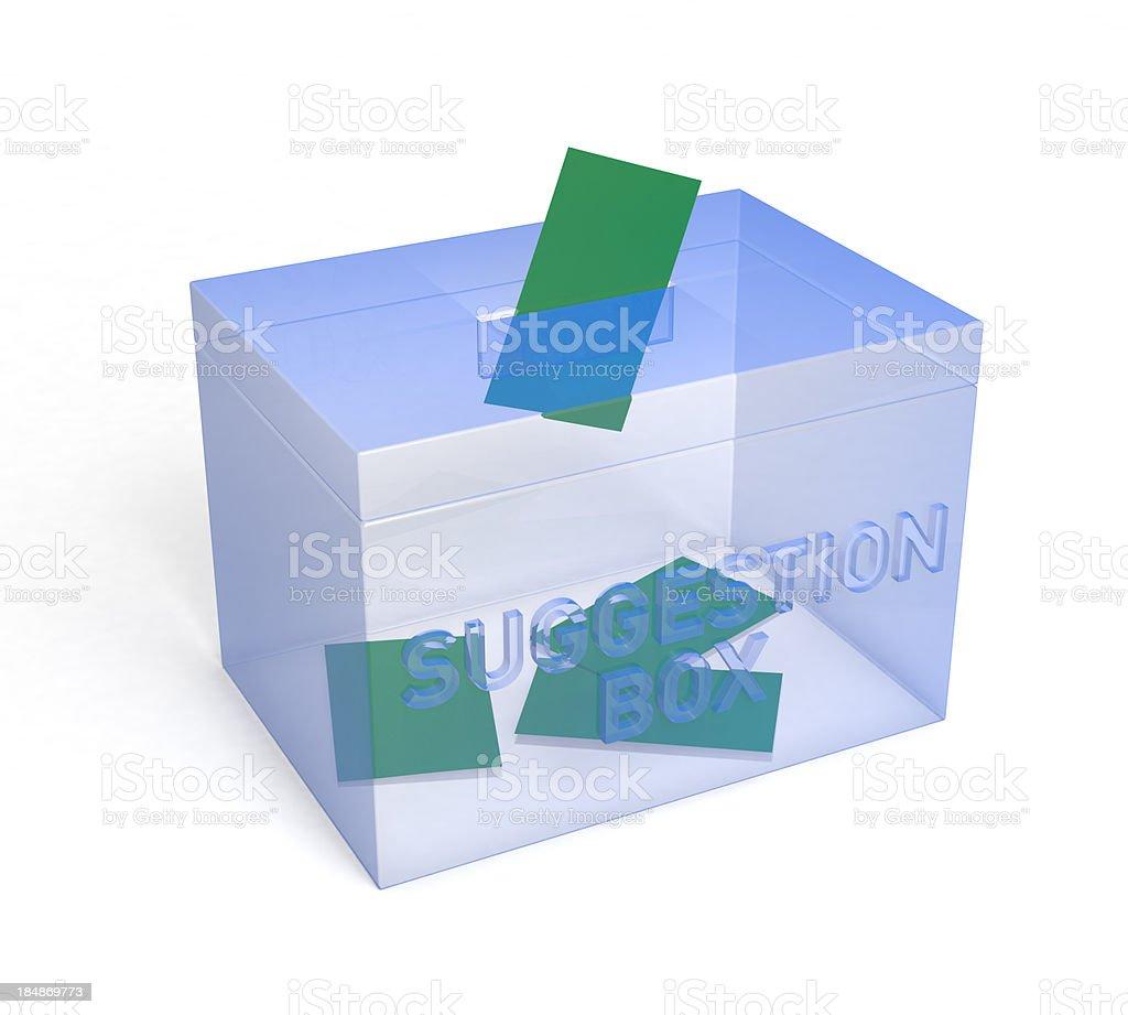 Suggestion Box royalty-free stock photo