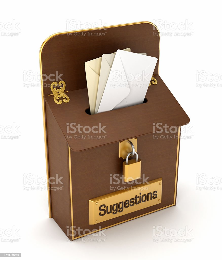 Suggestions royalty-free stock photo