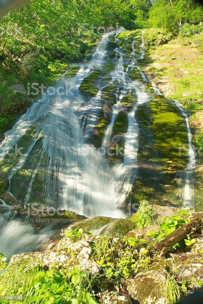 Suha waterfall royalty-free stock photo