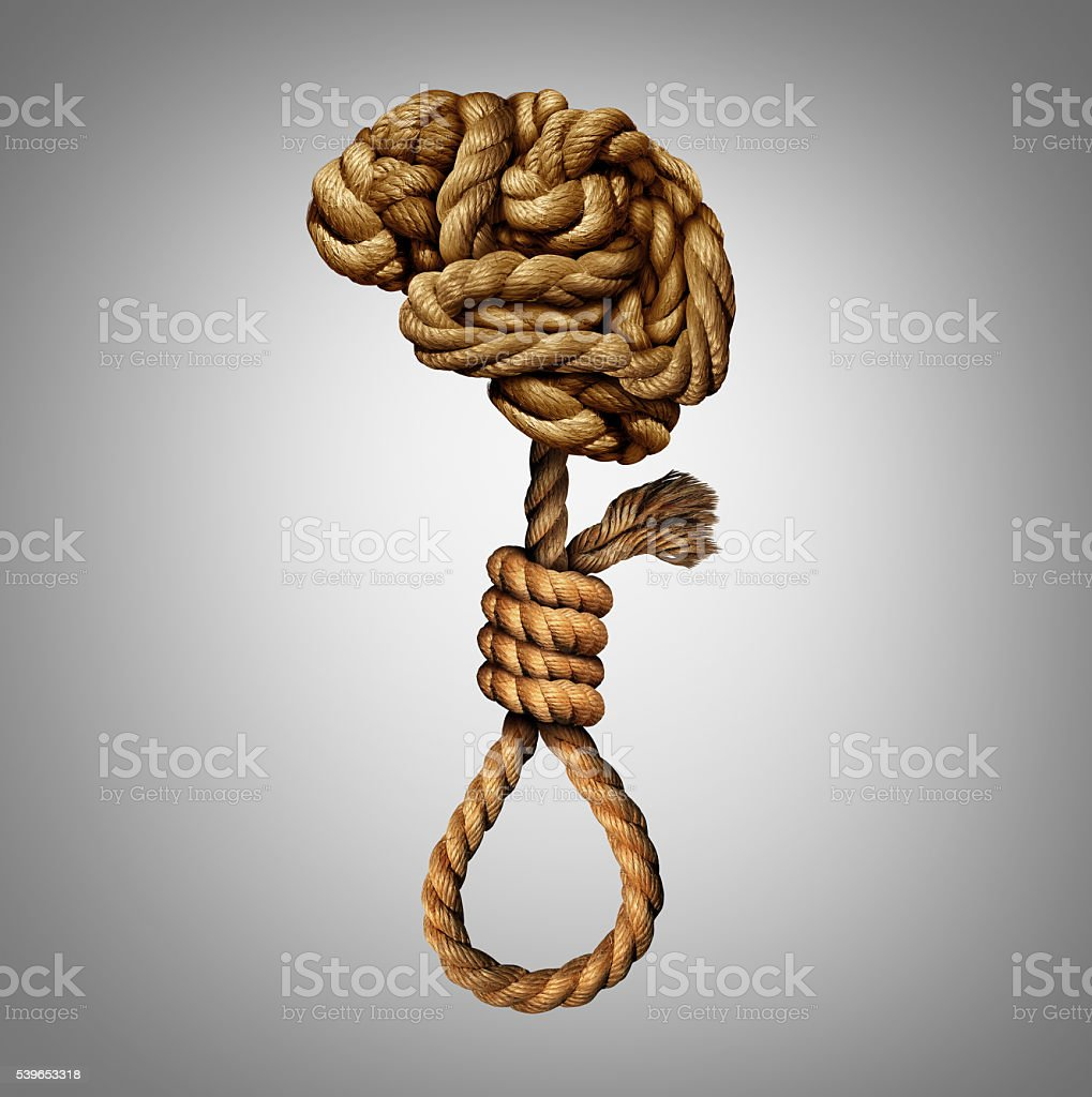 Suicidal Thoughts stock photo