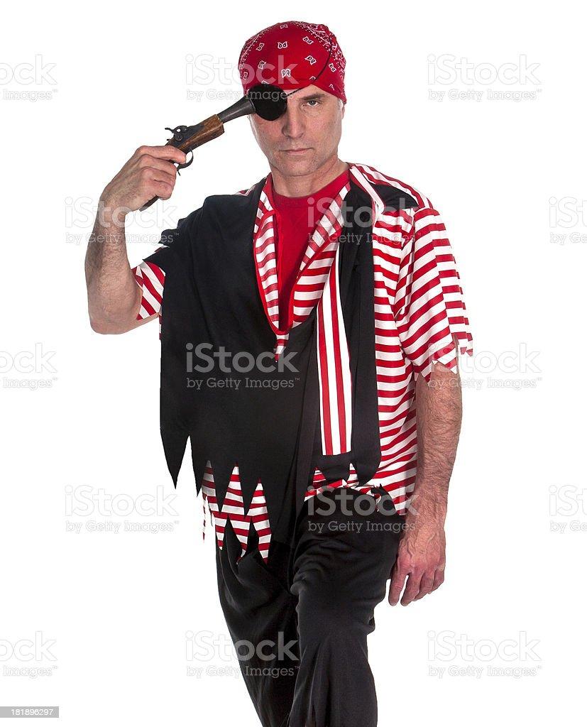 suicide pirate stock photo