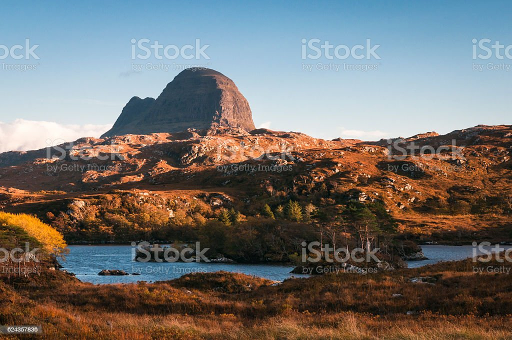 Suilven stock photo
