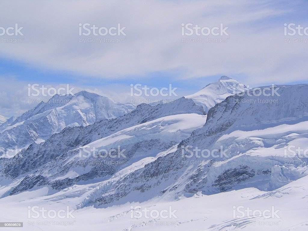 Suisse mountains royalty-free stock photo