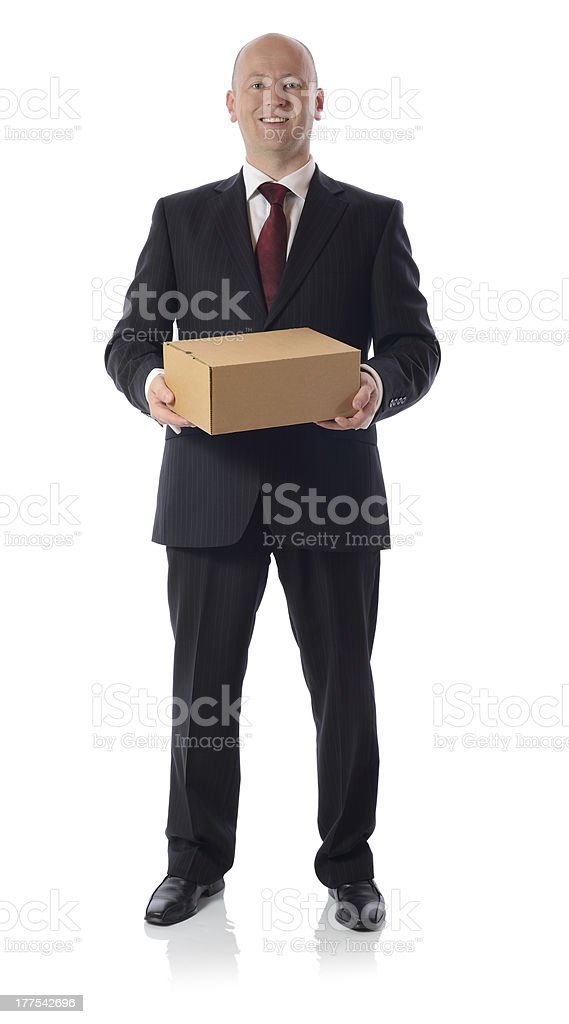 suit box royalty-free stock photo