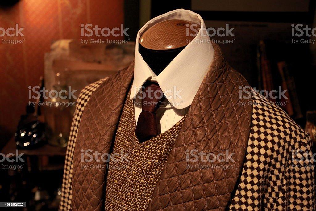 Suit fashion stock photo