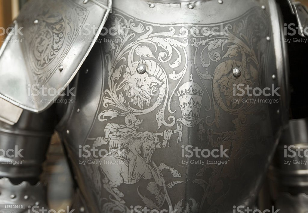 Suit of Armor royalty-free stock photo