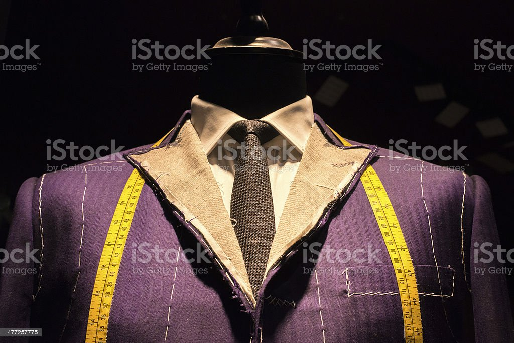 Suit on Tailor's Dummy (2) stock photo