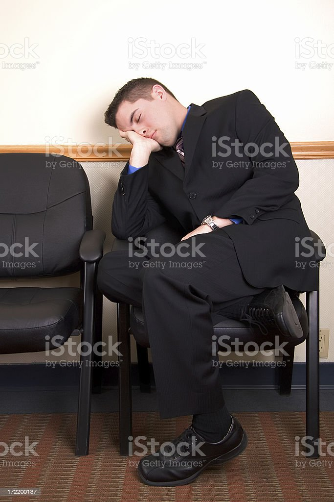 Suit Sleeper royalty-free stock photo
