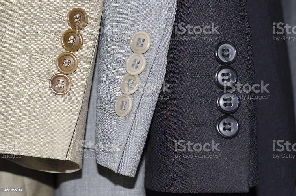 Suit sleeves royalty-free stock photo