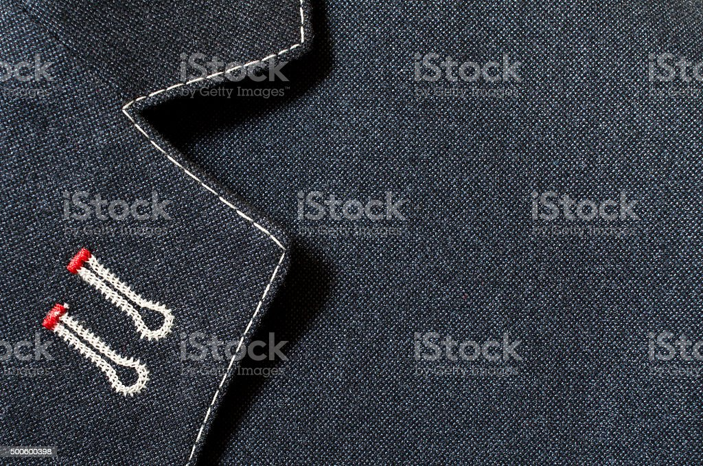 Suit texture or background stock photo